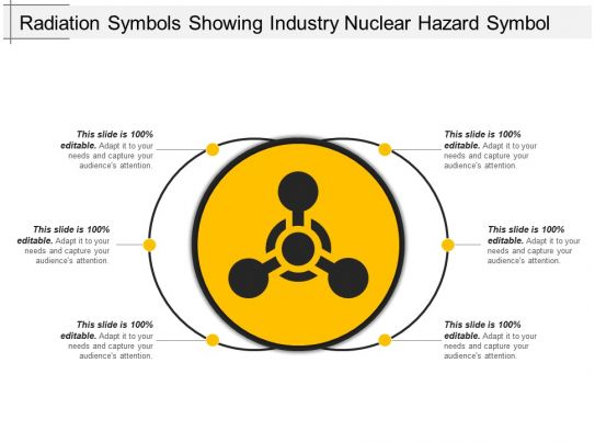 Radiation Symbols Showing Industry Nuclear Hazard Symbol Ppt