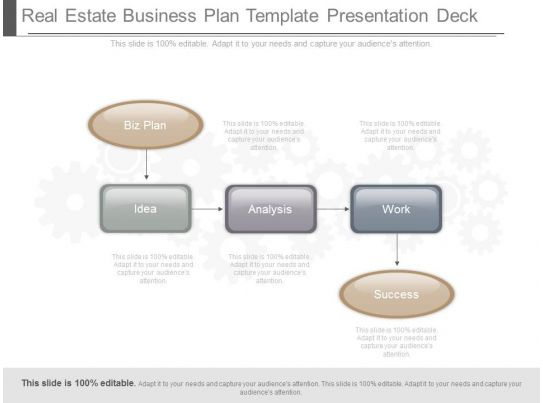 Real estate development business plan ppt outline