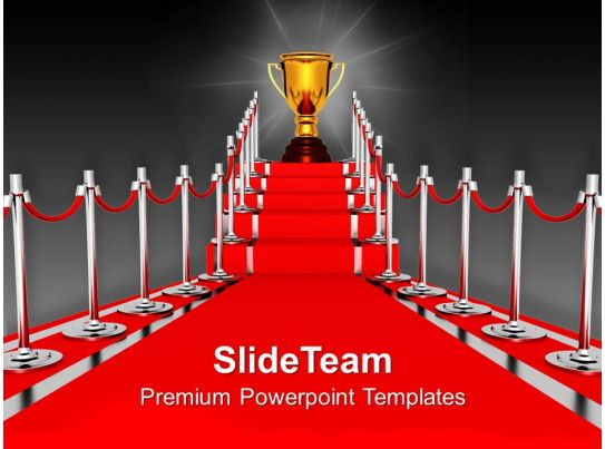 Red Carpet Award Ceremony PowerPoint Templates PPT ...