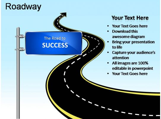 Roadway Powerpoint Presentation Slides PPT Images Gallery