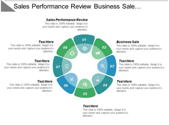 sales performance review business business sale resume