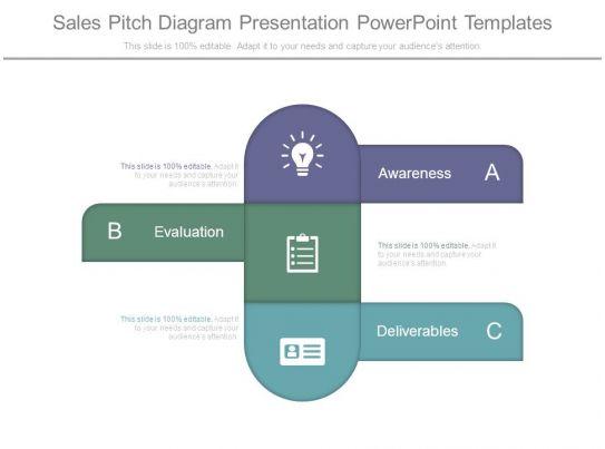 sales pitch diagram presentation powerpoint templates