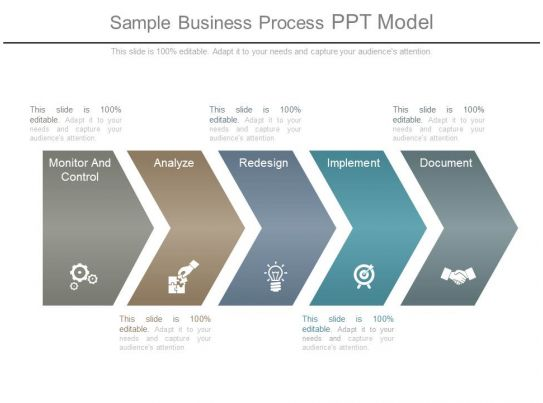 sample business process ppt model