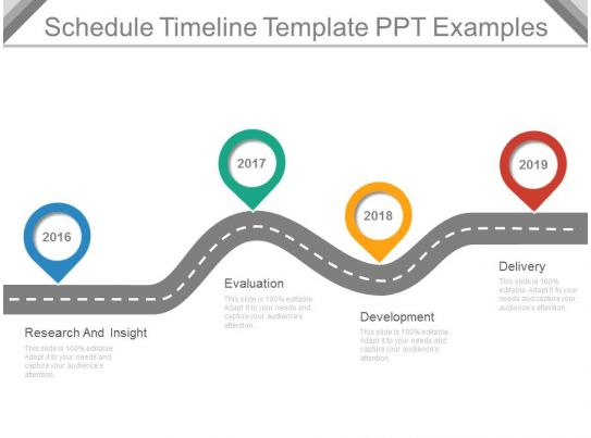 schedule timeline template ppt examples powerpoint templates