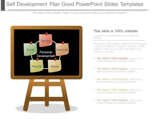 Self Development Plan Good Powerpoint Slides Templates Powerpoint