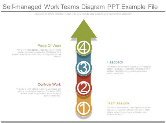 self managed work teams Cti elctie department of the air force  underlying the change to self-managed work teams was a change of management philosophy the lines of demarcation.