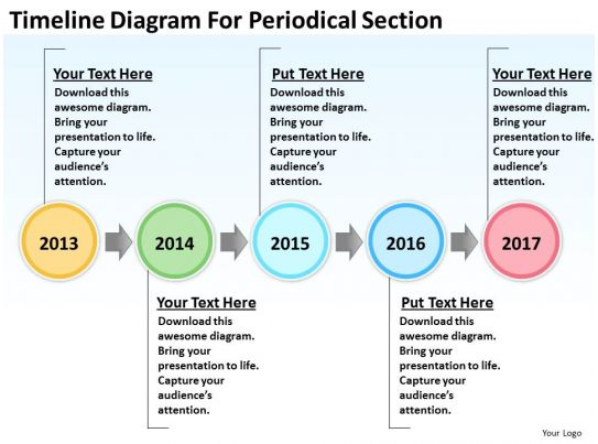 Small Business Network Diagram Timeline For Periodical Section Powerpoint Templates Powerpoint