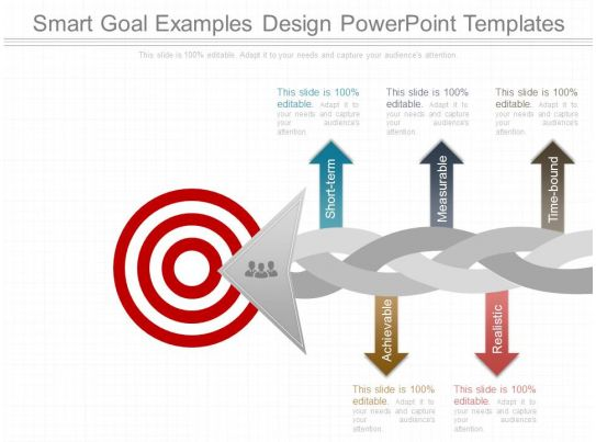 Smart Goal Examples Design Powerpoint Templates