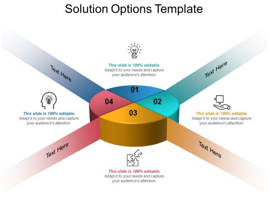 solution options template ppt samples download