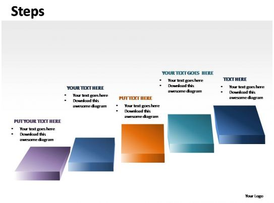 Steps Powerpoint Presentation Slides Powerpoint