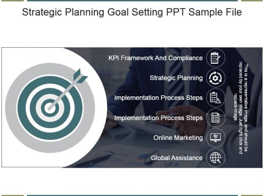 strategic planning goal setting ppt sample file