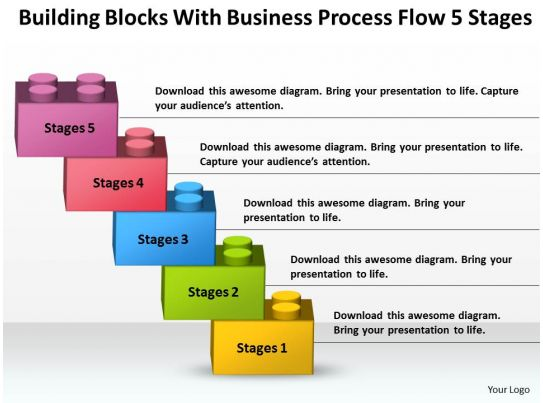 business process catalogue template - strategy consultant business process flow 5 stages