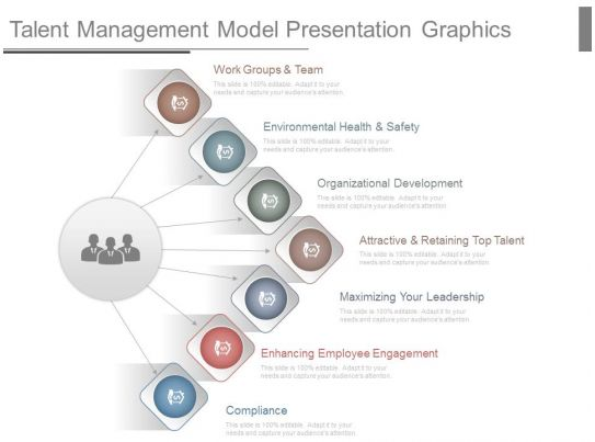 Talent Management Model Presentation Graphics Powerpoint
