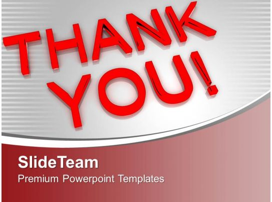 thank you business concept powerpoint templates ppt themes