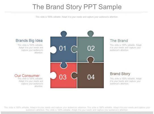 the brand story ppt sample templates powerpoint presentation slides template ppt slides. Black Bedroom Furniture Sets. Home Design Ideas