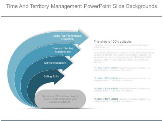 time and territory management powerpoint slide backgrounds