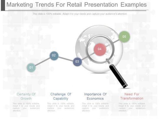 professional corporate presentation showing unique