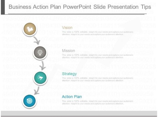 use business action plan powerpoint slide presentation