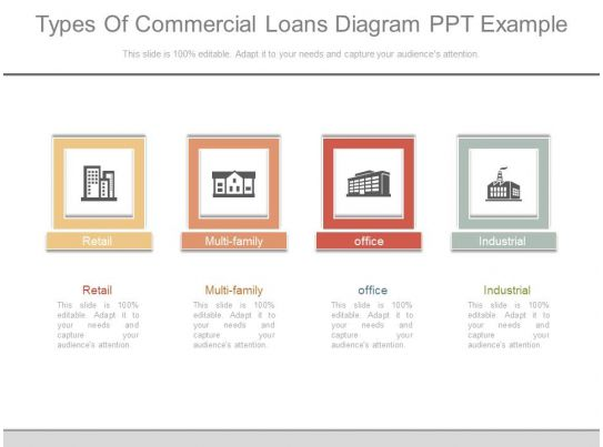 use types of commercial loans diagram ppt example ... commercial wiring systems