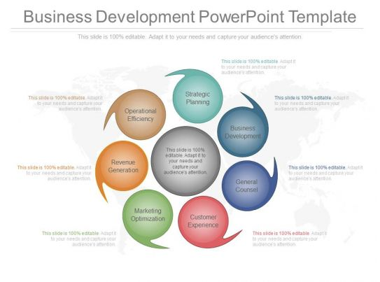 View business development powerpoint template for Company product development