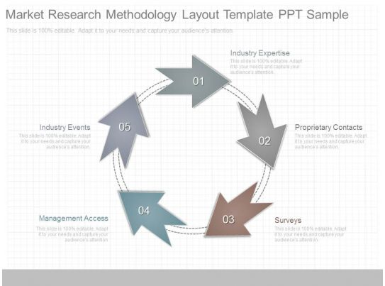 market research document template - view market research methodology layout template ppt