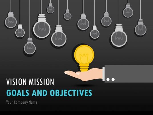 vision mission goals and objectives powerpoint