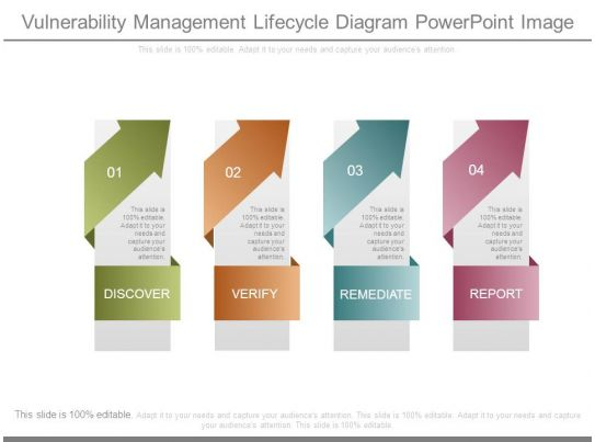 vulnerability management lifecycle diagram powerpoint