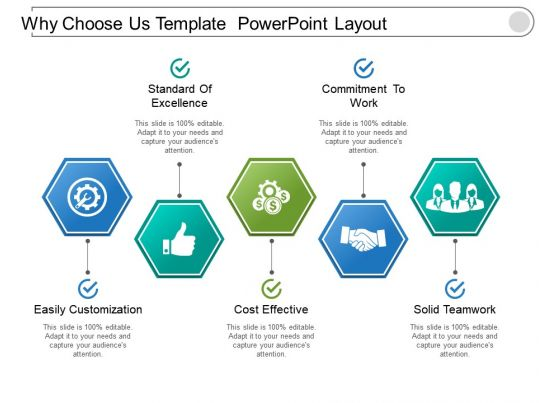 why choose us powerpoint layout