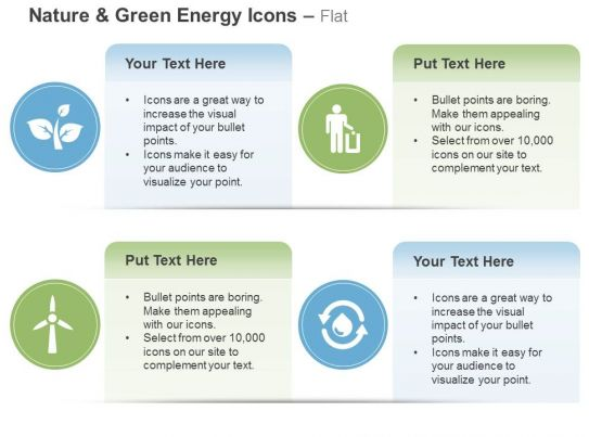 Windmill Leaves Waste Management Recycle Ppt Icons Graphics