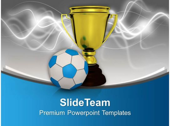winner of football game powerpoint templates ppt backgrounds for slides 0113. Black Bedroom Furniture Sets. Home Design Ideas