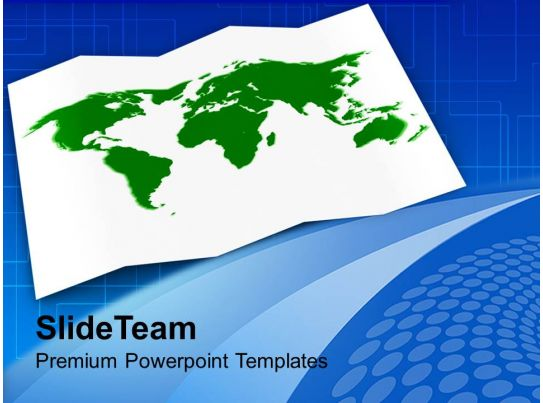world map global business powerpoint templates ppt themes