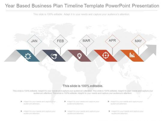 Year Based Business Plan Timeline Template Powerpoint CV Templates Download Free CV Templates [optimizareseo.online]