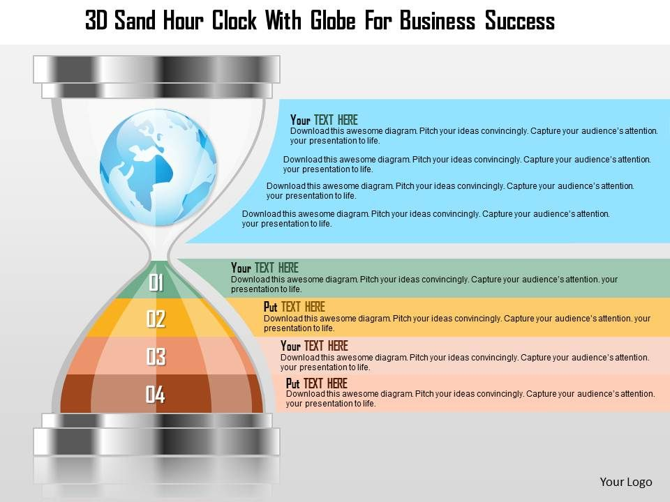 0115_3d_sand_hour_clock_with_globe_for_business_success_powerpoint_template_Slide01