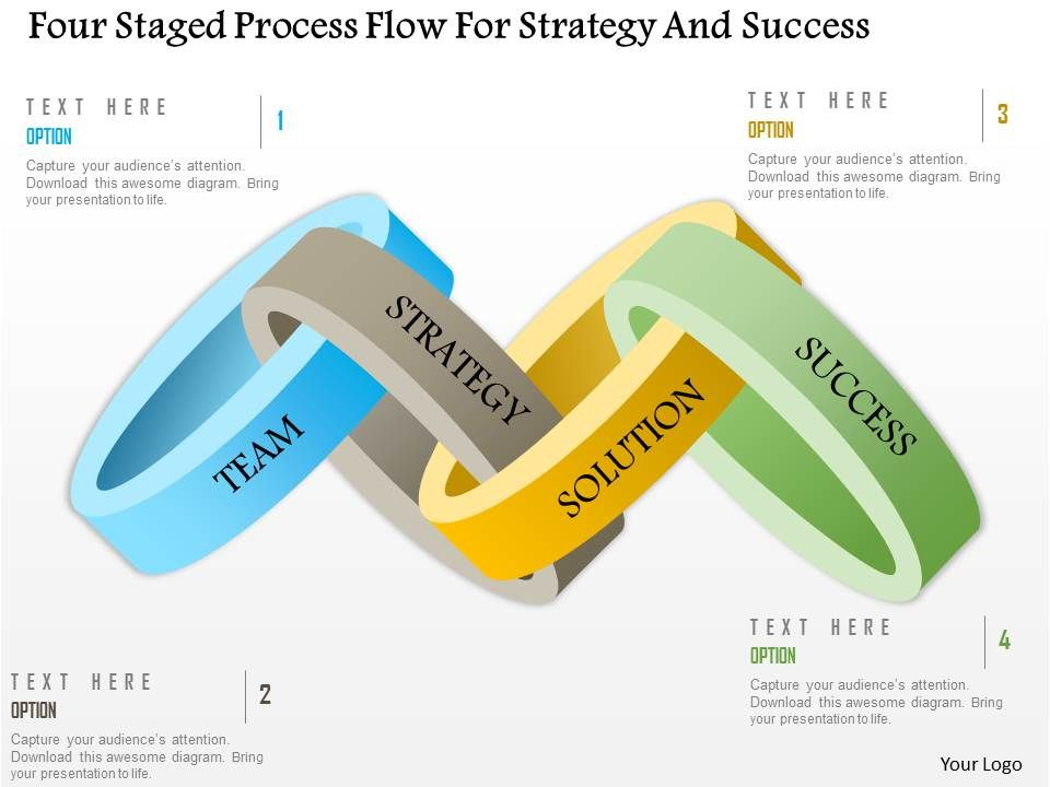 0115_four_staged_process_flow_for_strategy_and_success_powerpoint_template_Slide01