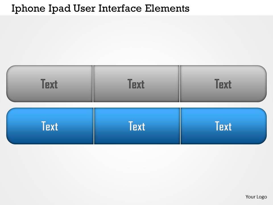 0115 grey and blue user interface for ipad and iphone powerpoint 0115greyandblueuserinterfaceforipadandiphonepowerpointtemplateslide01 toneelgroepblik Image collections