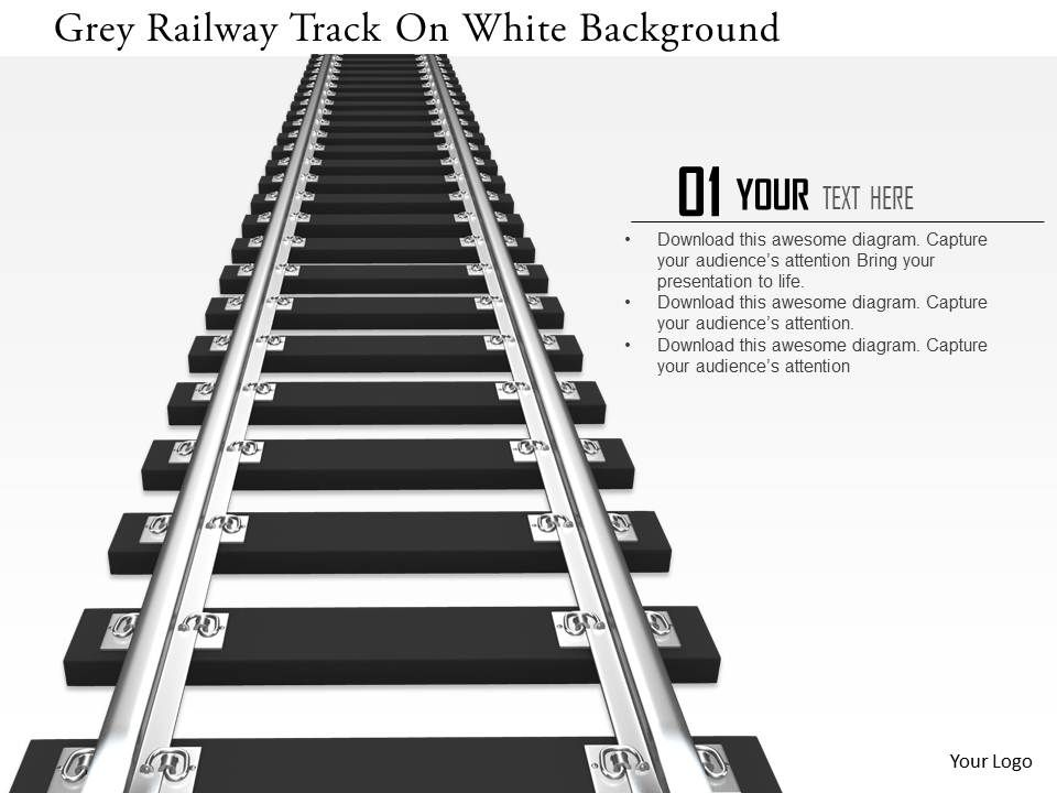 0115 grey railway track on white background image graphics for Rails html template