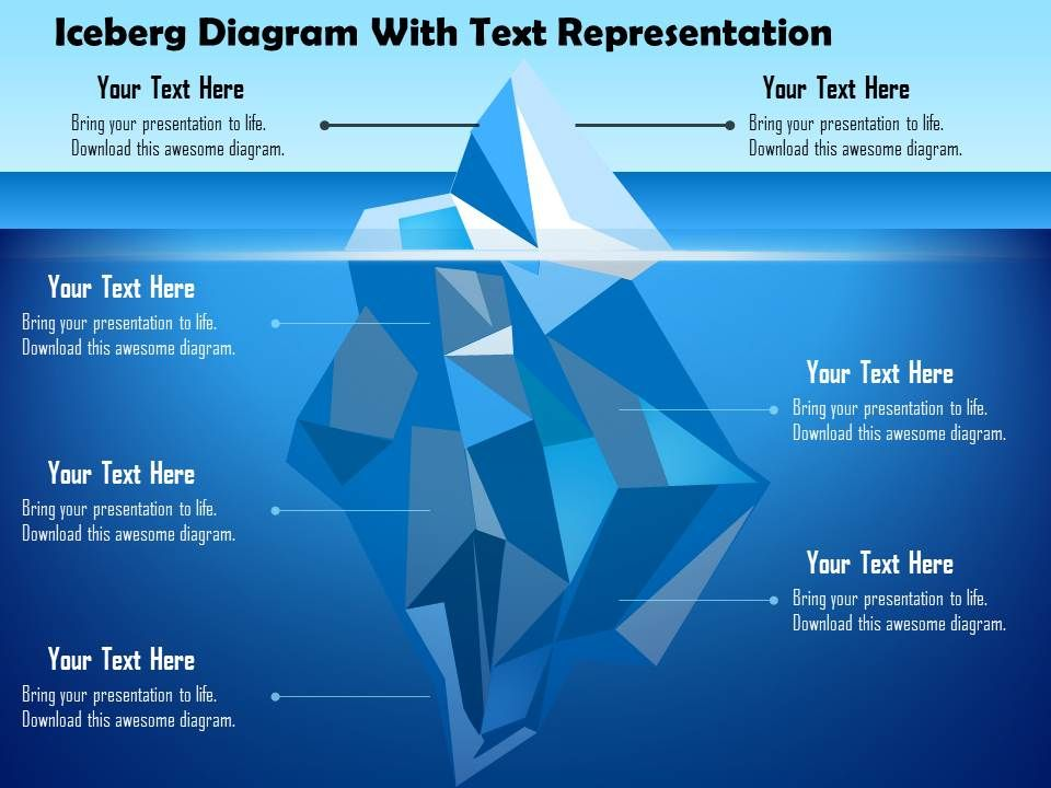 'iceberg' powerpoint templates ppt slides images graphics ...