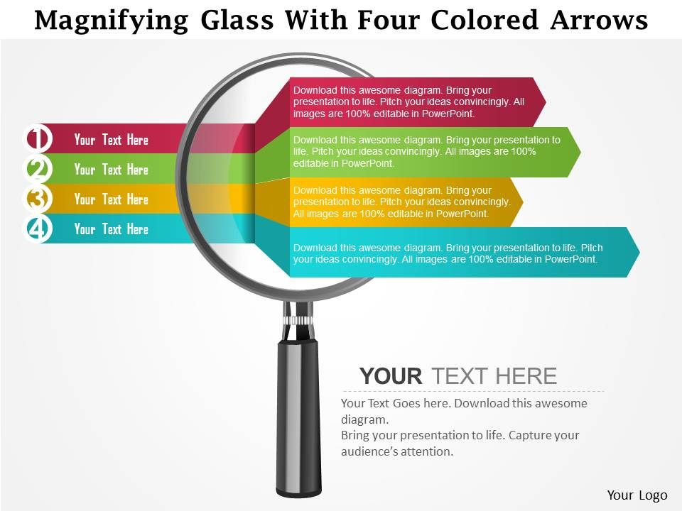 0115 magnifying glass with four colored arrows powerpoint template 0115magnifyingglasswithfourcoloredarrowspowerpointtemplateslide01 0115magnifyingglasswithfourcoloredarrowspowerpointtemplateslide02 toneelgroepblik Gallery