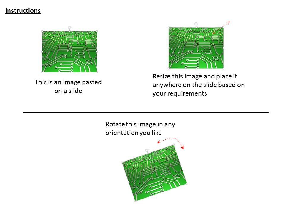0115 Pcb With Green Color For Electronics Image Graphics ...