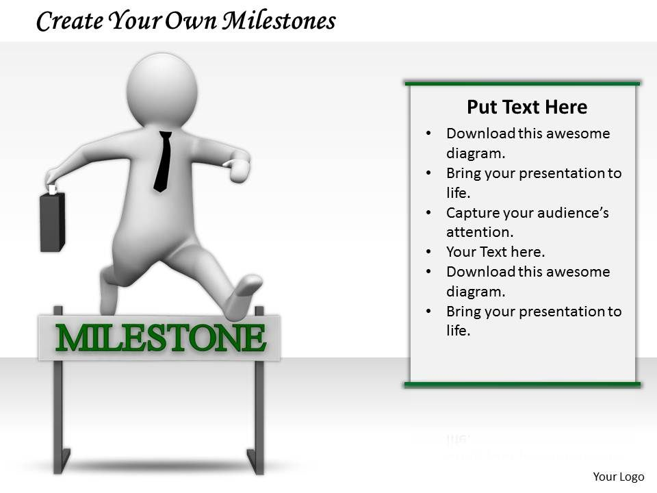 0214 Create Your Own Milestones Ppt Graphics Icons Powerpoint