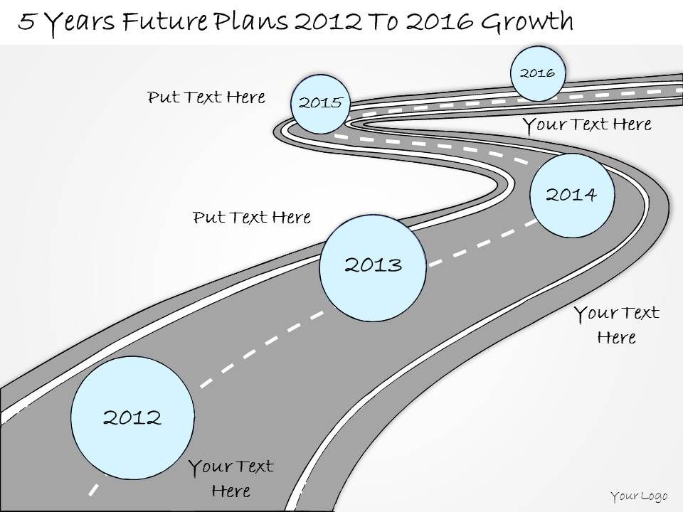 0314_business_ppt_diagram_5_years_business_future_plans_powerpoint_template_Slide01