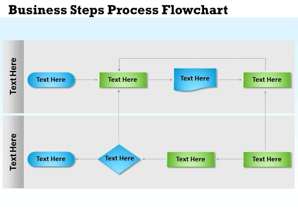 0314 business ppt diagram business steps process flowchart, Modern powerpoint