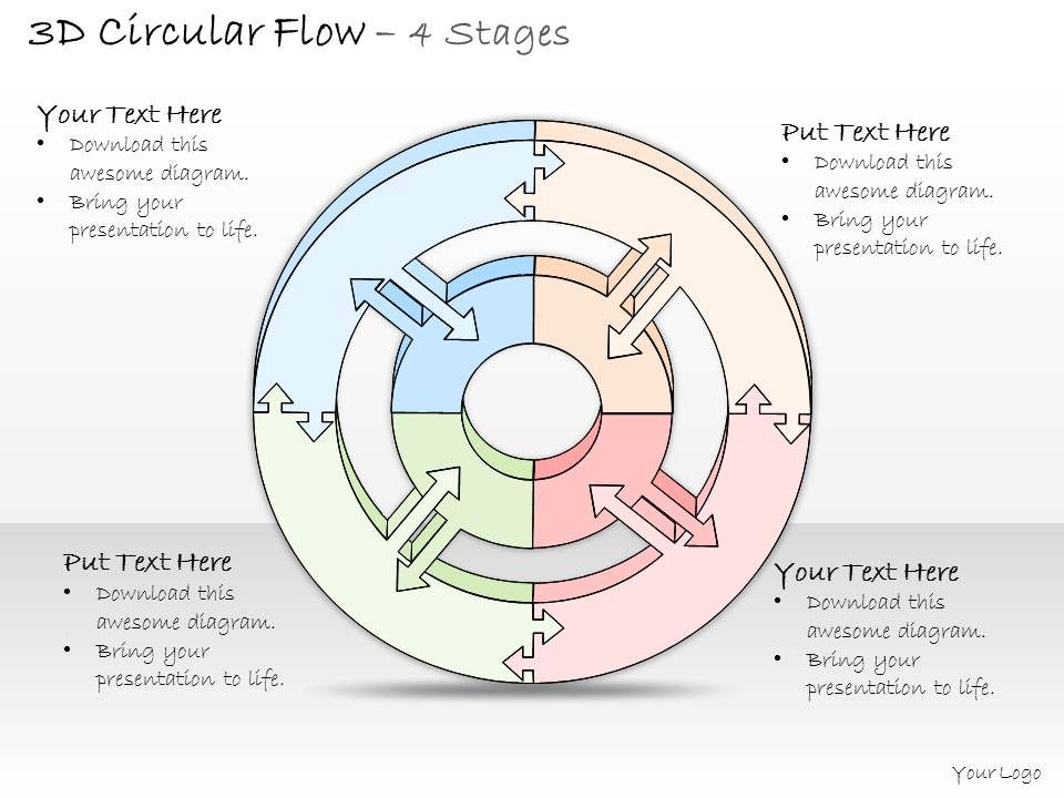 0314_business_ppt_diagram_circular_model_for_monetary_tranasctions_powerpoint_template_Slide01