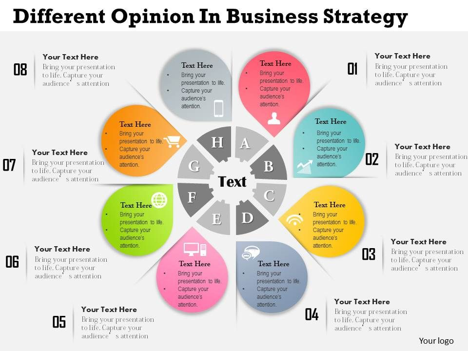 0314 Business Ppt Diagram Different Opinion In Business