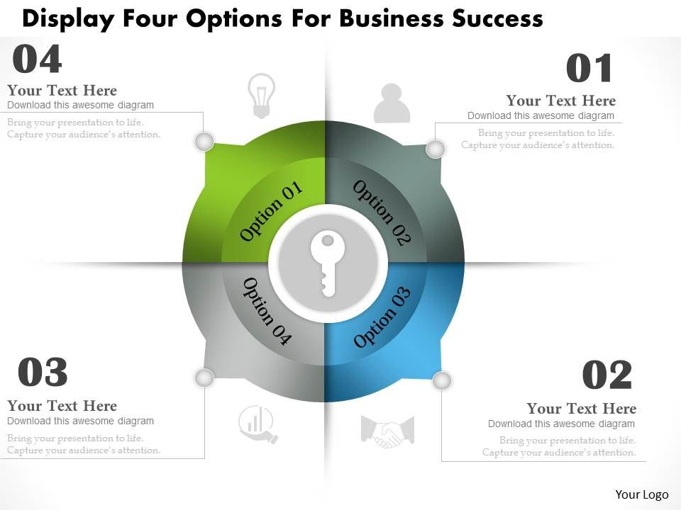 0314_business_ppt_diagram_display_four_options_for_business_success_powerpoint_template_Slide01