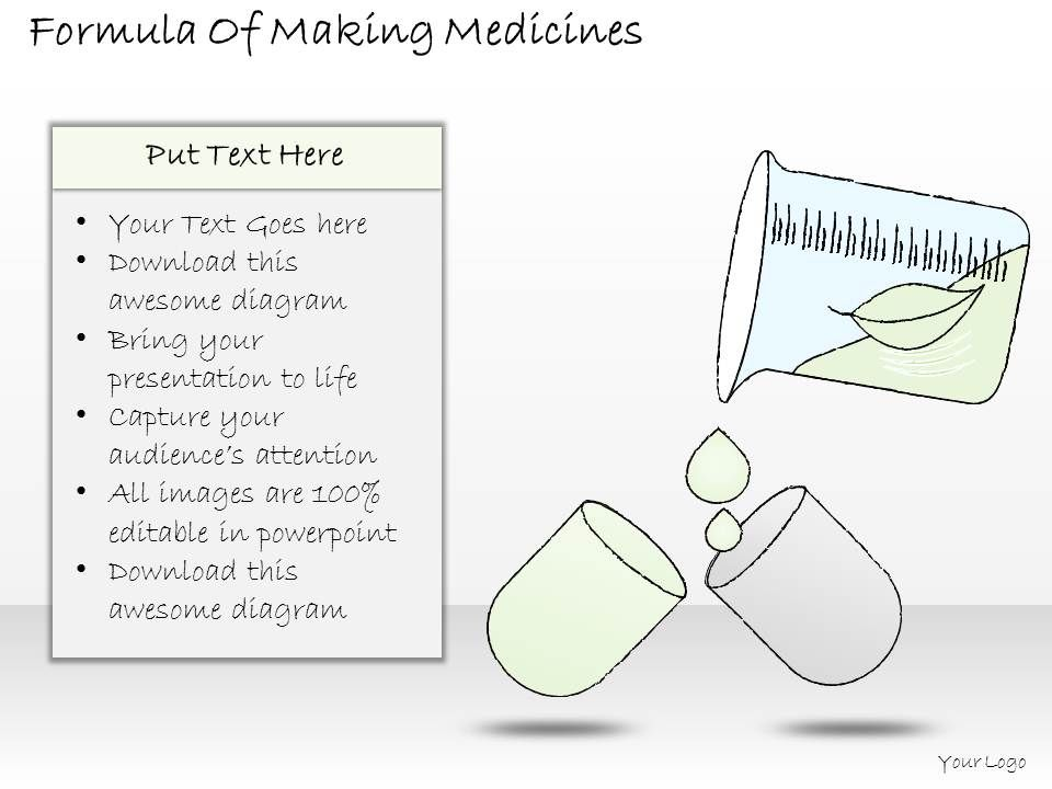 0314_business_ppt_diagram_formula_of_making_medicines_powerpoint_template_Slide01