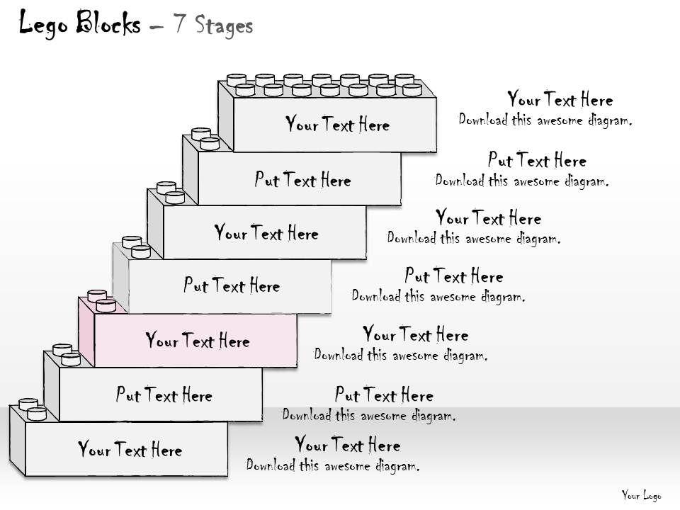 0314 business ppt diagram lego design for managing. Black Bedroom Furniture Sets. Home Design Ideas