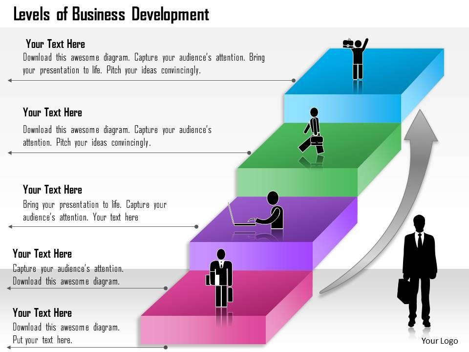 0314_business_ppt_diagram_levels_of_business_development_powerpoint_template_Slide01