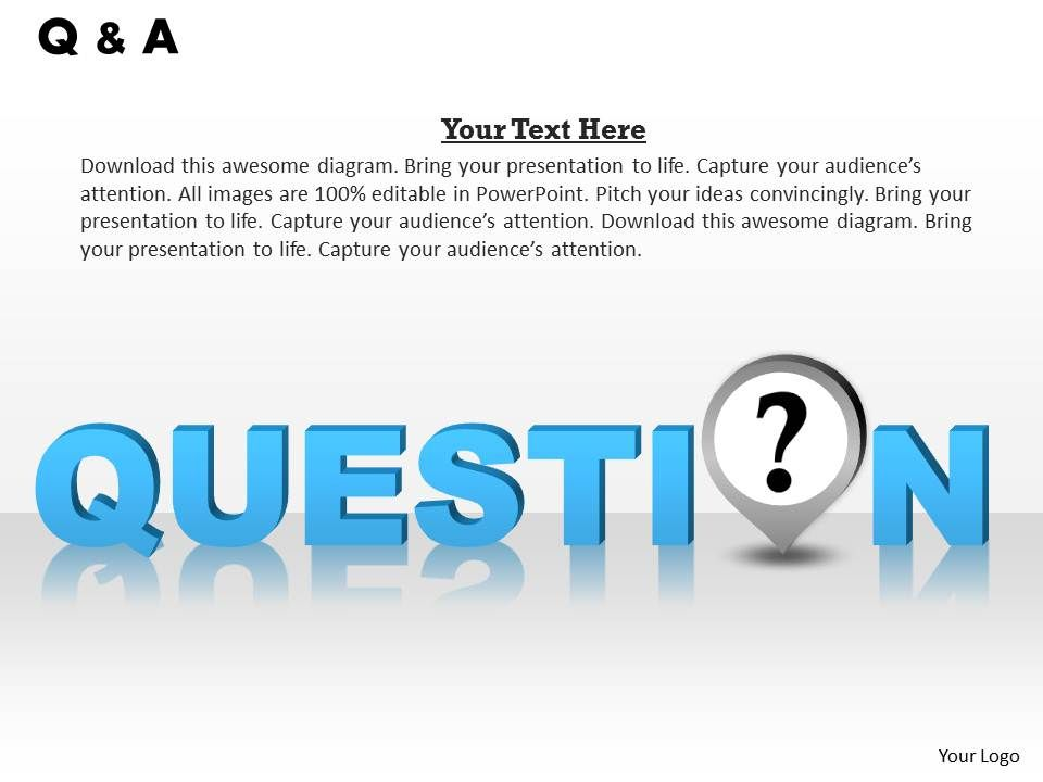 0314 Questions For Business Quiz Powerpoint Presentation Pictures