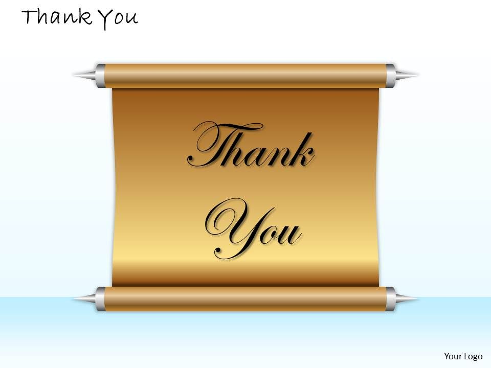 0314 Thank You Card Design Templates Powerpoint Presentation Slides Template Ppt Slides Presentation Graphics